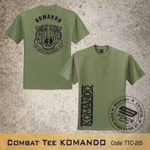 Military Tee KOMANDO (OD Green) - TTC205